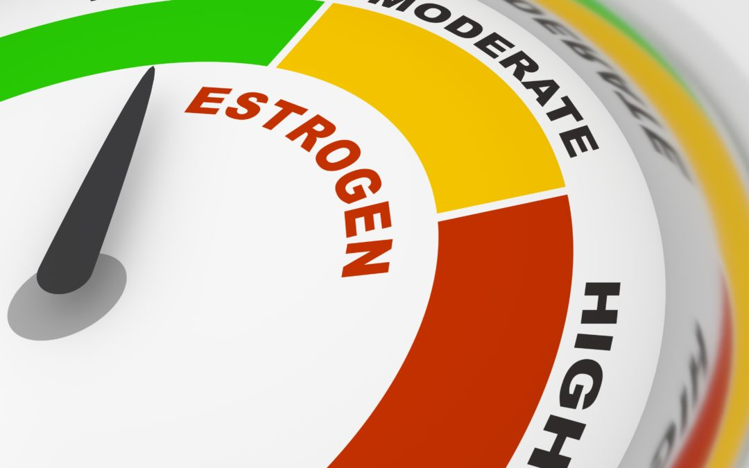 Why does low estrogen lead to memory loss?